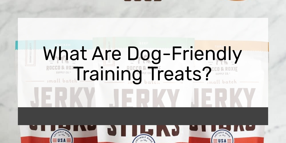 What Are Dog-Friendly Training Treats?