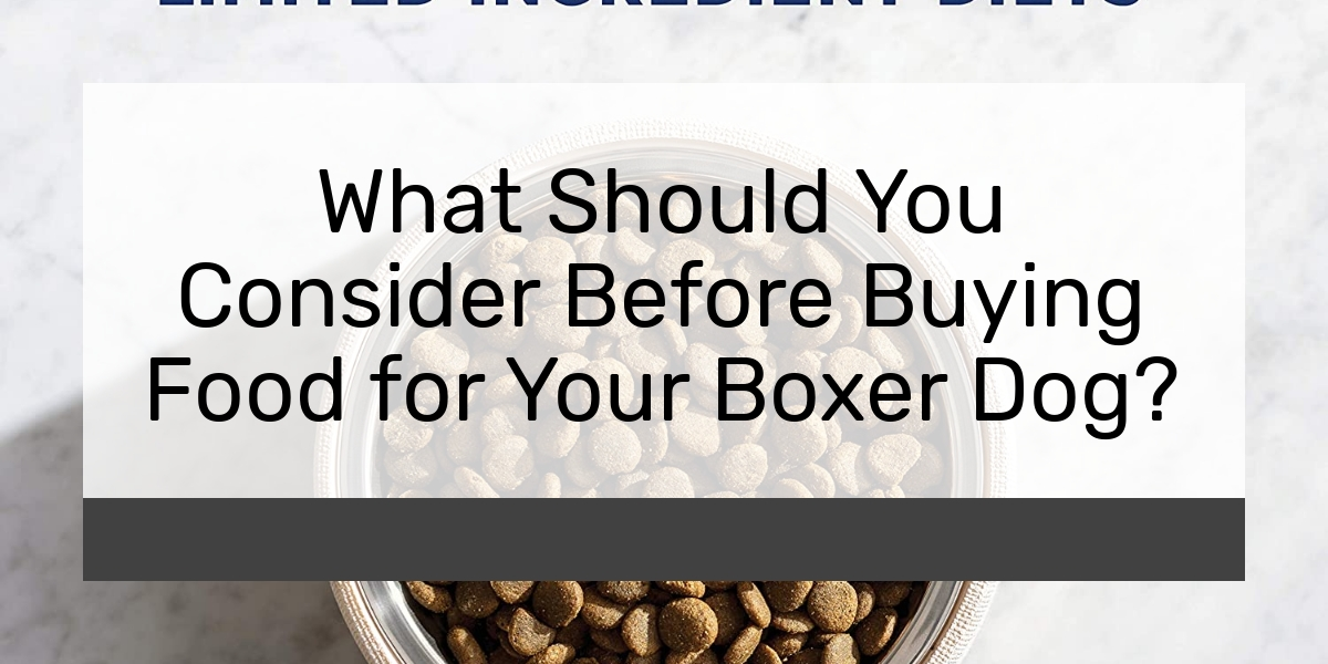 What Should You Consider Before Buying Food for Your Boxer Dog?